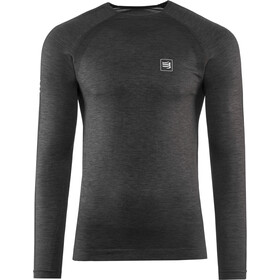 Compressport T-Shirt De Sport À Manches Longues, black